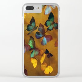 Butterflies Released Clear iPhone Case