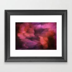 Lost in Waves Framed Art Print