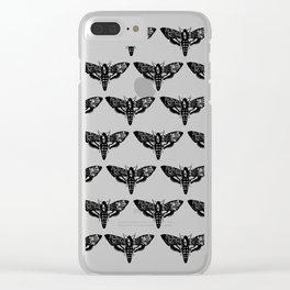 deathmoth Clear iPhone Case