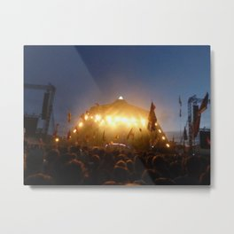 Glastonbury Metal Print