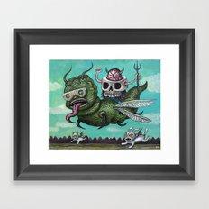 Ride of the Valkyrie Framed Art Print