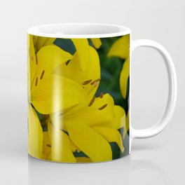 Yellow Lilies by Teresa Thompson Coffee Mug