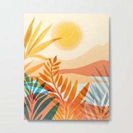 Golden Hour / Abstract Landscape Series Metal Print