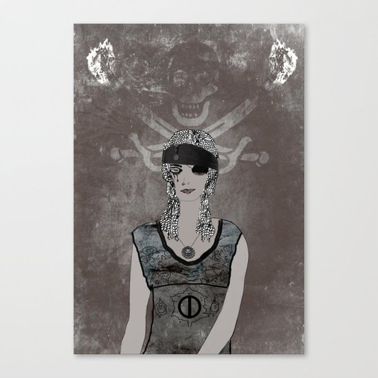 Weeping Pirates Canvas Print