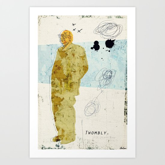Twombly Art Print