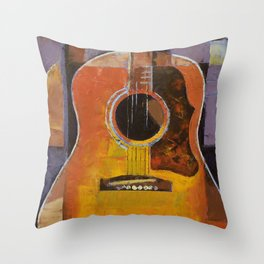 Guitar Throw Pillow