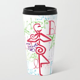 Mother Universe Love, Laugh, and Dream Travel Mug