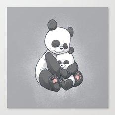Panda Hug Canvas Print
