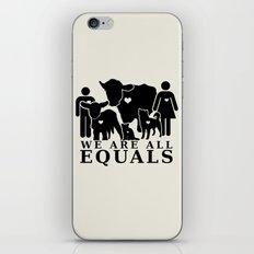 Earthlings iPhone & iPod Skin