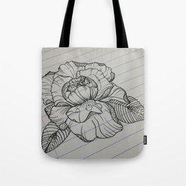 Classroom Peony Tote Bag