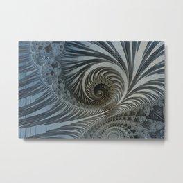 Fascinating Fractals Metal Print