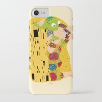 klimt iPhone & iPod Cases featuring Klimt muppets by tuditees
