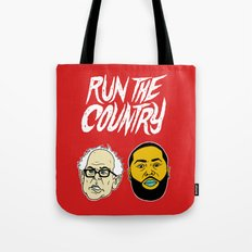 Run The Country Tote Bag