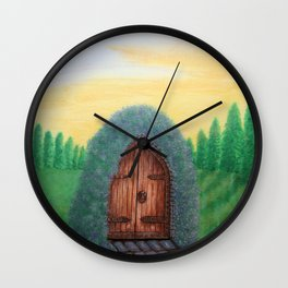 In Other Worlds Wall Clock