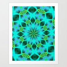 Native Mandala B Art Print