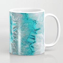 Ice Teal Agate Coffee Mug