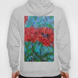 Poppies in the Garden Hoody