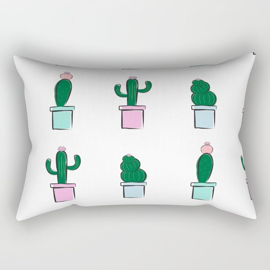 Cute Colorful Cactus by kenedidesignco