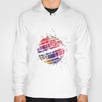 death star Hoodies featuring Star . Wars Death Star by Carma Zoe