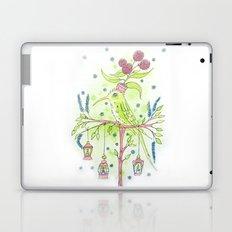 Flowerpot bird Laptop & iPad Skin