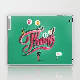 Thank You Laptop & iPad Skin