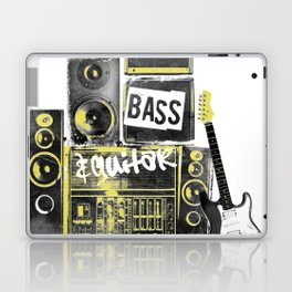 Beats, Bass & Guitar. Laptop & iPad Skin