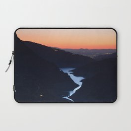Silver lake. At the mountains... Laptop Sleeve