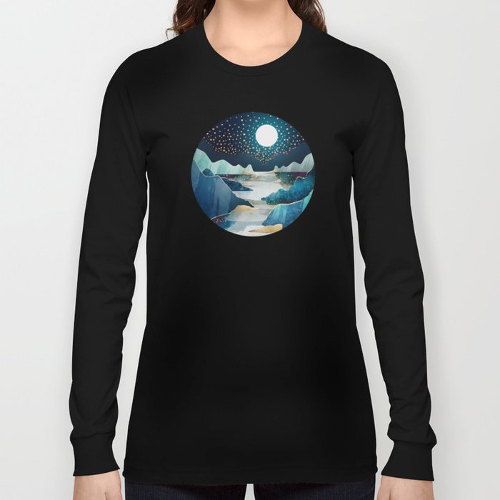 Moon Glow Long Sleeve T-shirt