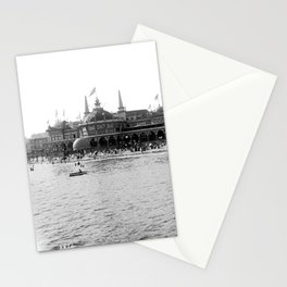 Santa Cruz Beach Boardwalk 1911 Stationery Cards