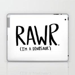 Rawr. I'm a Dinosaur Laptop & iPad Skin