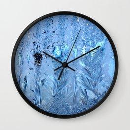 ice pattern 3 Wall Clock
