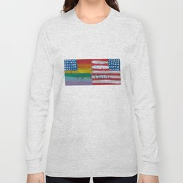 Flags For The Future 4: Power To The People Long Sleeve T-shirt