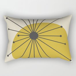 Retro Atomic  Rectangular Pillow