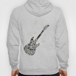 Art a guitar Hoody
