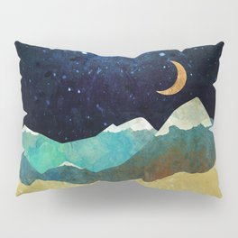 Snowy Night Pillow Sham
