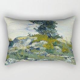 Vincent van Gogh - The Rocks (1888) Rectangular Pillow