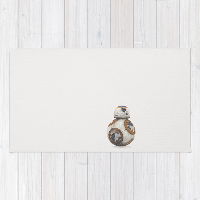BB-8, starwars painting Rug