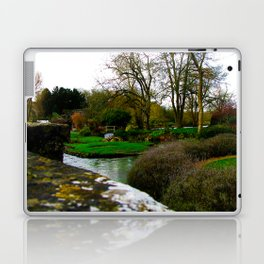 The most beautiful village in England, Bibury. Laptop & iPad Skin