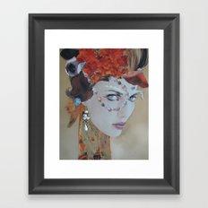 Aquamarine Framed Art Print