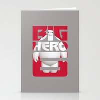 big hero 6 Stationery Cards featuring Baymax - Big Hero 6 by Nguyen