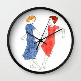 Danceof Friendship Wall Clock