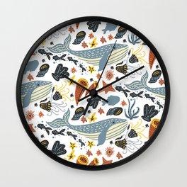 Sea Pattern #1 Wall Clock