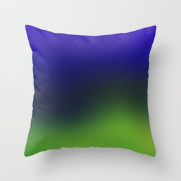 Sky, Mountains and Valley Throw Pillow
