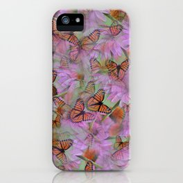 Monarch Mania iPhone Case