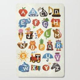 Alphabet Cutting Board