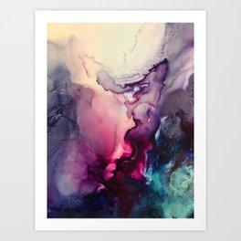 Mission Fusion - Mixed Media Painting Art Print