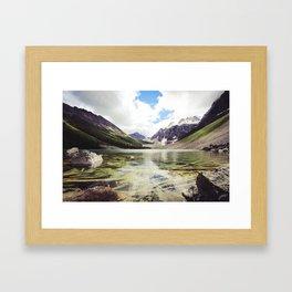 consolation lakes Framed Art Print