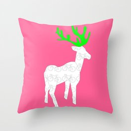 Ride with me Throw Pillow
