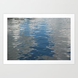 Clouds in the Water, Lake of the Woods, Canada Art Print