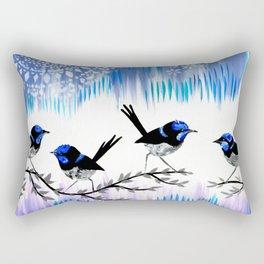 Purple designs Rectangular Pillow
